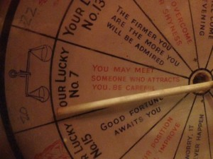 Fortune teller charity box 1