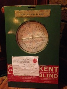 Fortune teller charity box 2