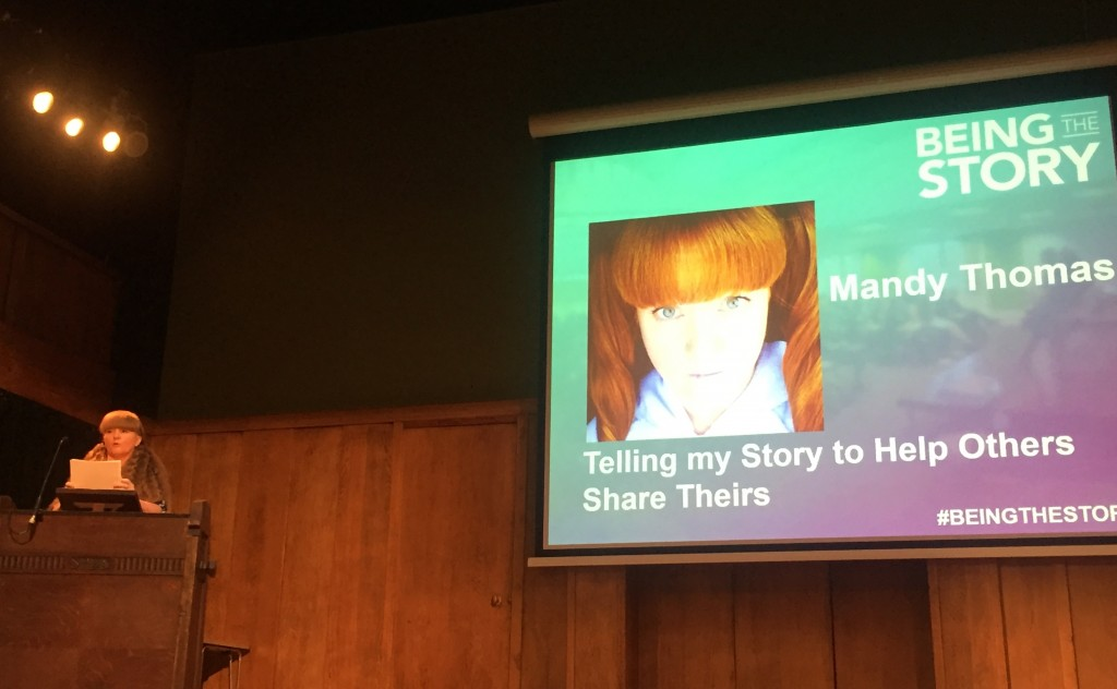 Mandy Thomas at Being The Story